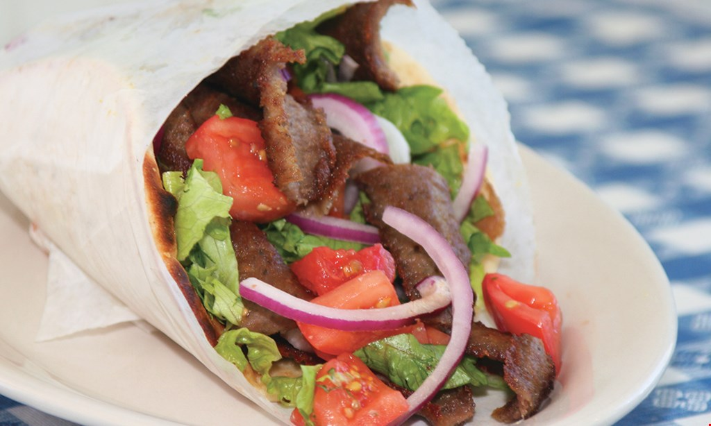 Product image for Athena Gyro $10 off any takeout or delivery order
