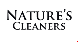Nature's Cleaners logo