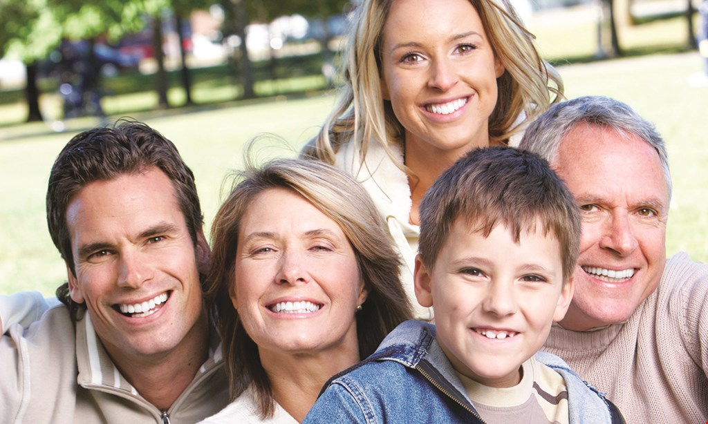 Product image for Dynamic Dental Group $59 exam, x-rays & prophy non-insured adults only.