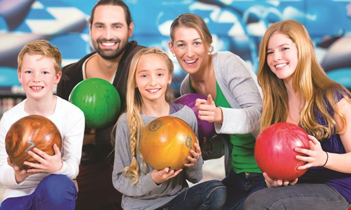 Product image for Timber Lanes $55 glow bowling for 5 people