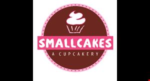 SMALLCAKES CUPCAKERY AND CREAMERY logo