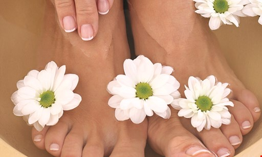 Product image for Fantastic Nail Spa $5 OFFANC or gel pedicure excluding Happy Feet