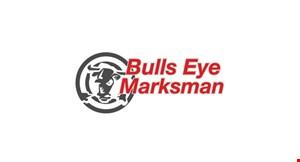 Bulls Eye Marksman logo