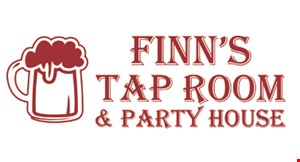 Finn's Tap Room & Party House logo