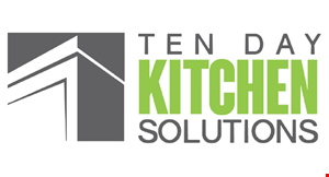 Product image for TEN DAY KITCHEN SOLUTION $1,500 Off A Complete Kitchen Booked By May 15, 2020 Call Today For A Free In-Home Estimate.