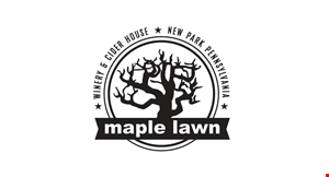 Maple Lawn Winery & Cider House logo