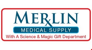 Merlin Medical Supply logo