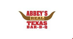 Abbey's Real Texas Bar-B-Q logo