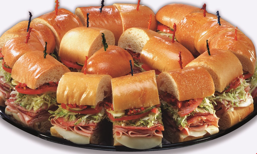 Product image for Lennys Subs $13.99 two 7 1/2 inch subs, two regular drinks & two cookies