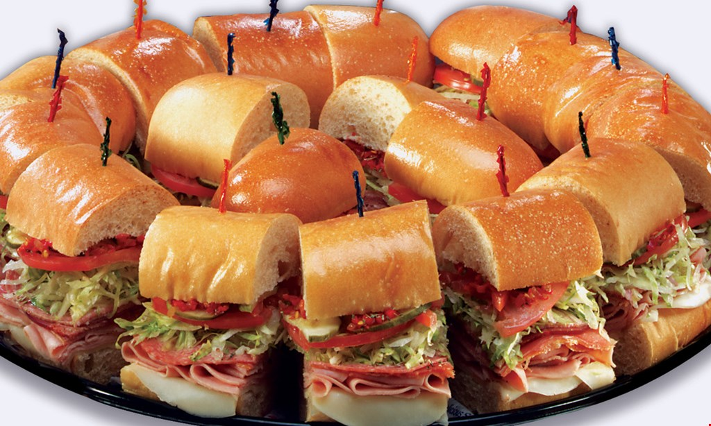 Product image for Lennys Subs $13.99two 7 1/2 inch subs, two regular drinks & two cookies.