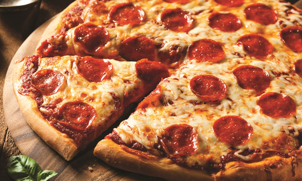 Product image for Mark's Pizzeria - Auburn 2 MEDIUM 2-TOPPING PIZZAS $19.99. Coupon code 2MED2RP