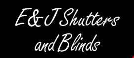 Product image for E & J Shutters & Blinds 30% OFF Home Improvement Stores