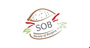 Product image for Society of Burgers $3 off any purchase