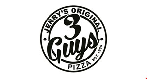 3 Guys Pizza logo