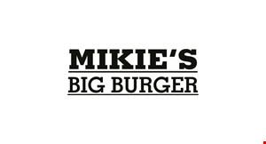 Mikie's Big Burger logo