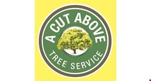 A Cut Above Tree Service logo
