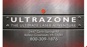 Product image for Ultrazone Baltimore $12.50 For 1 Admission To Play All Day Laser Tag (Reg. $24.99)