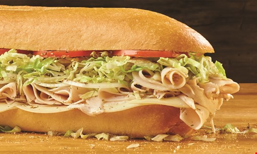 Product image for Jersey Mikes Chicago Market Co-Op Free regular sub with purchase of any regular sub & (2) 22oz drinks of equal or lesser value.