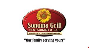 Sonoma Grill Restaurant & Bar logo