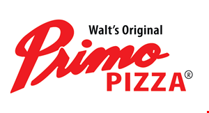 "Product image for Walt's Original Primo Pizza $3 off any 18"" pizza."