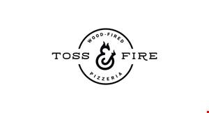Toss & Fire Wood-Fired Pizza logo