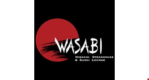 Product image for Wasabi Hibachi Steakhouse & Sushi Lounge $15 meal deal choose from hibachi chicken/shrimp or teriyaki chicken/shrimp entree meals for only $15 per meal(includes 2 pc shrimp appetizer, vegetables, soup, salad & fried rice).
