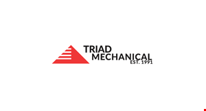 Product image for Triad Mechanical $39SERVICE CALL *limited areas.