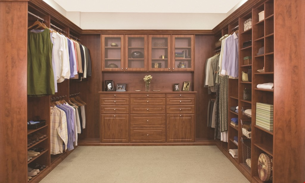 Product image for Closets By Design 40% Off Plus Free Installation