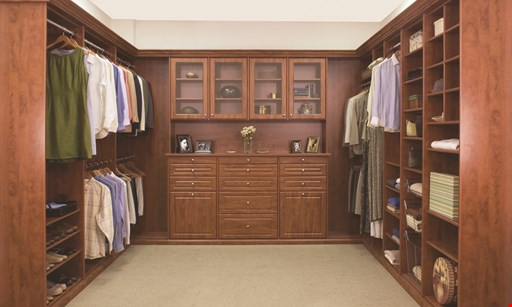 Product image for CLOSETS BY DESIGN 40% Off Plus Free Installation. Plus take an extra 15% off.