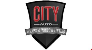 City Auto Wraps & Window Tinting logo