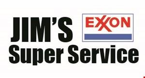 Jim's Super Service logo