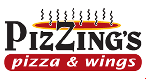 Pizzing's Pizza & Wings logo