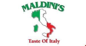 Maldinis Pizza logo