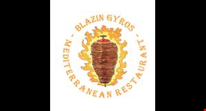 Blazin Gyros logo