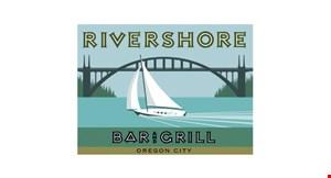 Rivershore Bar & Grill logo