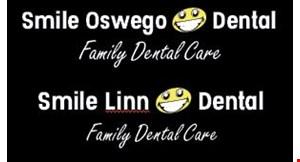 Product image for Smile Oswego Dental FREE EXAM & X-RAYS