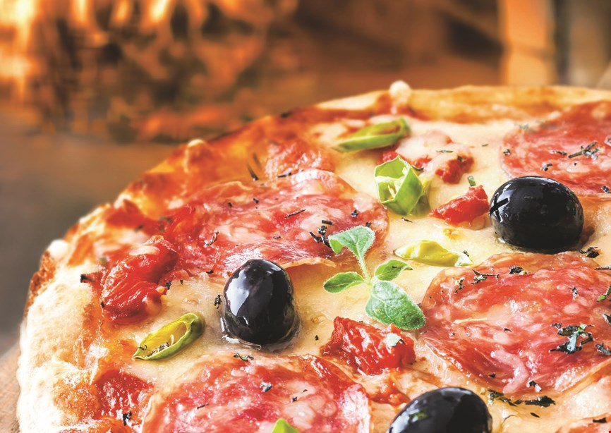 Product image for Romanza Ristorante $21.99 +tax 2 large cheese pizzas toppings extra.