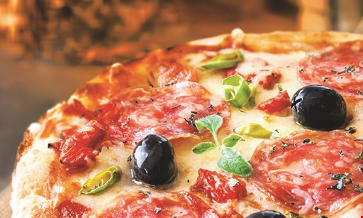 Product image for Romanza Ristorante $18.99 + tax 2 large cheese pizzas