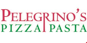 Product image for Pelegrino's Pizza & Pasta $10 off any purchase of $50 or more