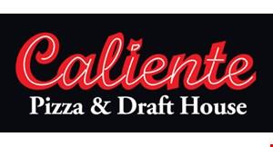 Caliente Pizza & Draft House logo