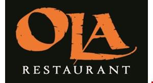 Ola Restaurant logo