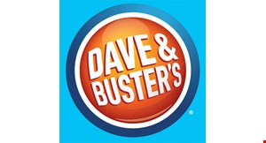 Product image for Dave & Buster's FREE $20 GAME PLAY