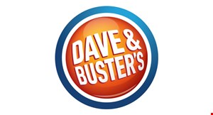 Product image for Dave & Buster's $20 For $40 Worth Of Game Play