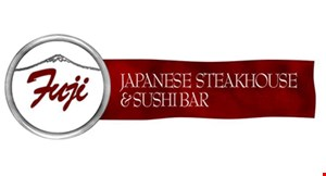 Product image for FUJI JAPANESE STEAKHOUSE & SUSHI BAR 15% Off your total lunch bill (at the Hibachi grill) during lunch, Mon.-Fri. only.