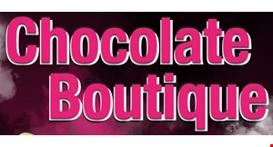 Product image for Chocolate Boutique $5 off any purchase
