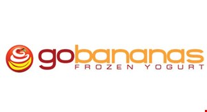 Go Bananas Frozen Yogurt logo