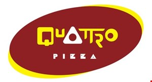 Product image for Quattro Pizza $14.99 large 1-topping pizza