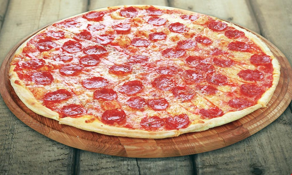 Product image for Quattro Pizza Free Pizza buy large 2-topping pizza at regular price get a large cheese pizza free.