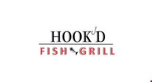 Hook'd Fish Grill logo
