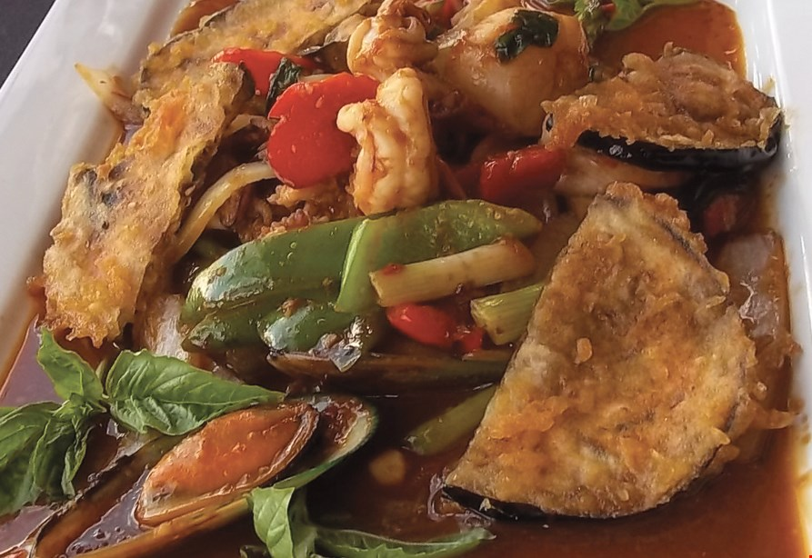 Product image for Thai Moon By The Sea $10 OFF any purchase of $50 or more dine in or take-out.